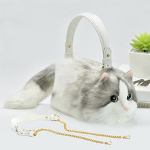 Load image into Gallery viewer, Artificial Cat Handbag Faux Leather Handmade【Limited quantity,Sold out soon】