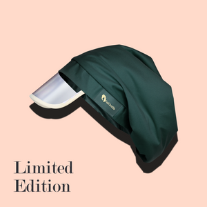 Hairbrella Satin-Lined Rain Hat