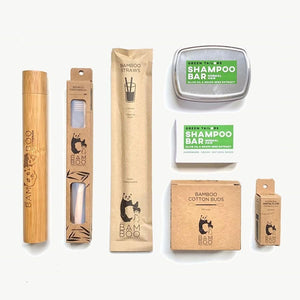 The Bam&Boo TRAVEL PACK - Bamboo Toothbrush Bam&Boo - Eco friendly, vegan and sustainable