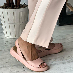 2020 Leather Sandals For Women