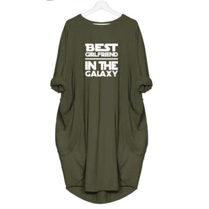 Nemora - Best Girlfriend In The Galaxy Dress For Her Green / S (4-6 US) (8 UK) Just Superb Free Shipping