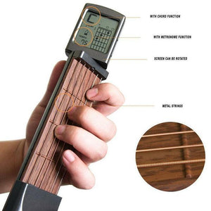 Convenient and practical pocket guitar