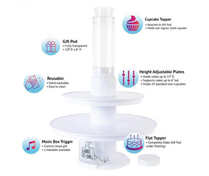 Surprise Cake - Musical Popping Cake Stand(50%OFF)
