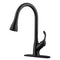 APPASO 123ORB Pull Down Kitchen Faucet Oil Rubbed Bronze Single Handle with Deck Plate