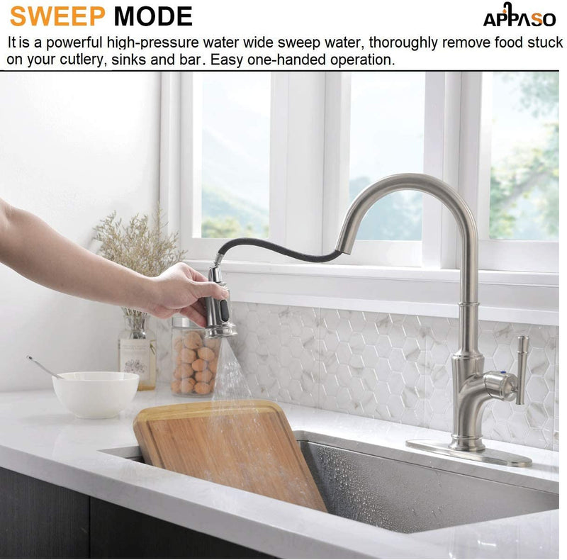 APPASO_Kitchen_Sink_Faucets_Replacement_Parts_135BN_Head