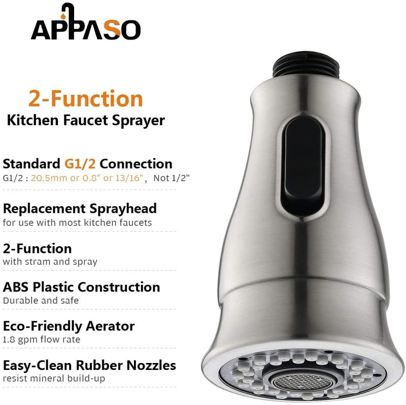 APPASO_Kitchen_Sink_Faucets_Replacement_Parts_157BN_Head