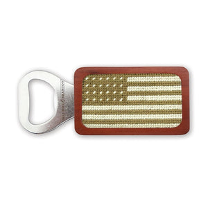 Smathers & Branson Armed Forces Flag Needlepoint Bottle Opener