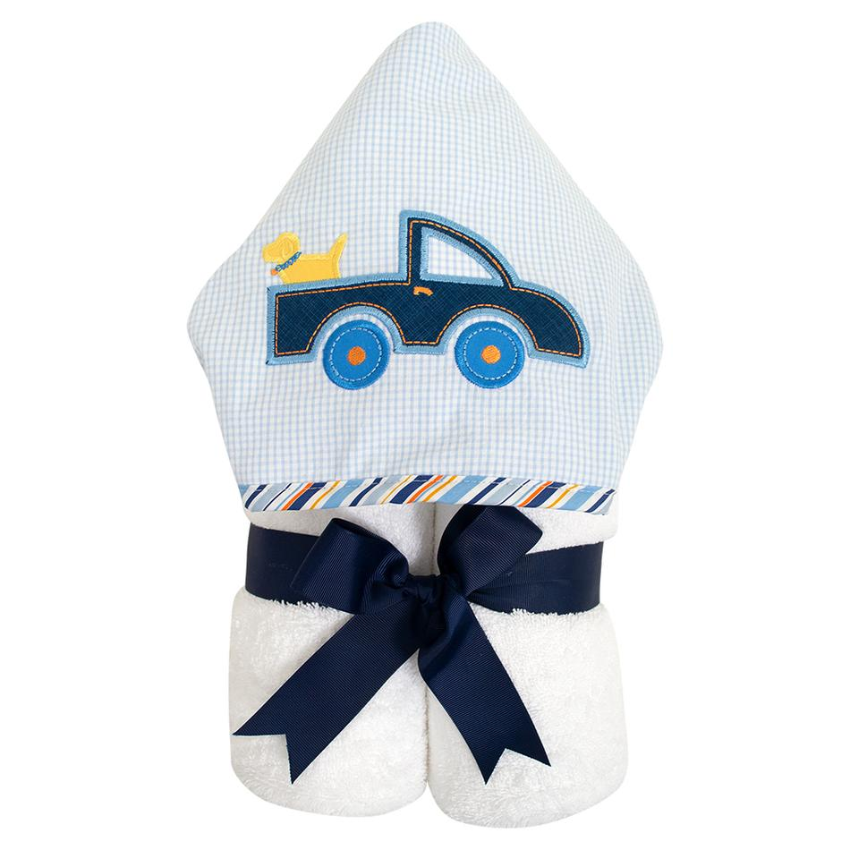 Three Marthas Truck Hooded Towel