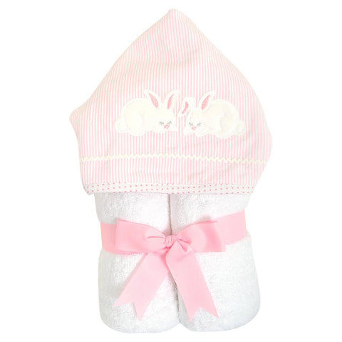 Three Marthas Bunny Hooded Towel