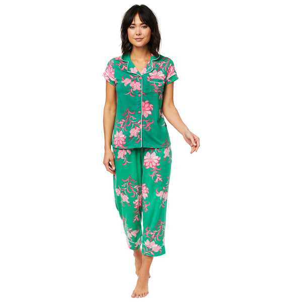 The Cat's Pajamas Ava Pima Knit Capri