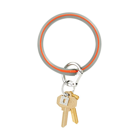 Big O Leather Key Ring (London Fog)