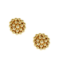 Lisi Lerch Button Earrings (Gold)