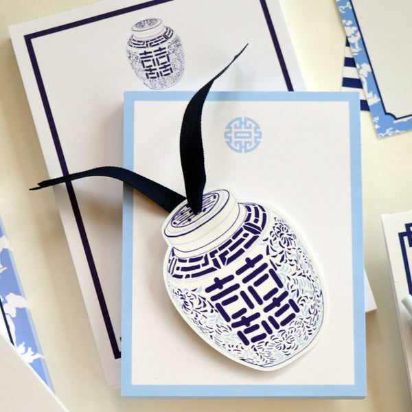 WH Hostess Ginger Jar Die-Cut Gift Tags