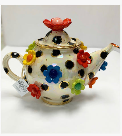 Mary Rose Young Floral Teapot