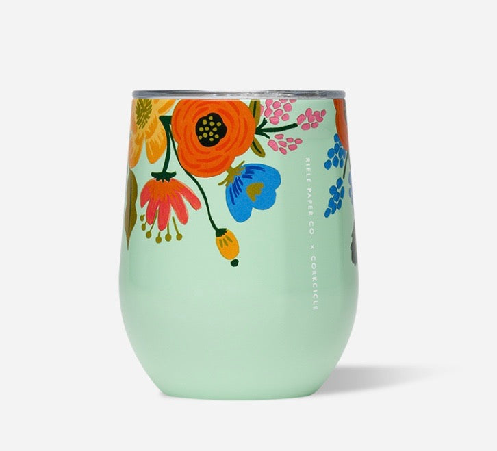 Rifle Paper Co. + Corkcicle Stemless Wine (More colors available!)