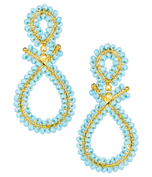 Lisi Lerch Tricia Earrings (Turquoise)