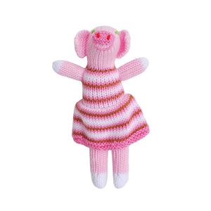 Pig Knit Rattle