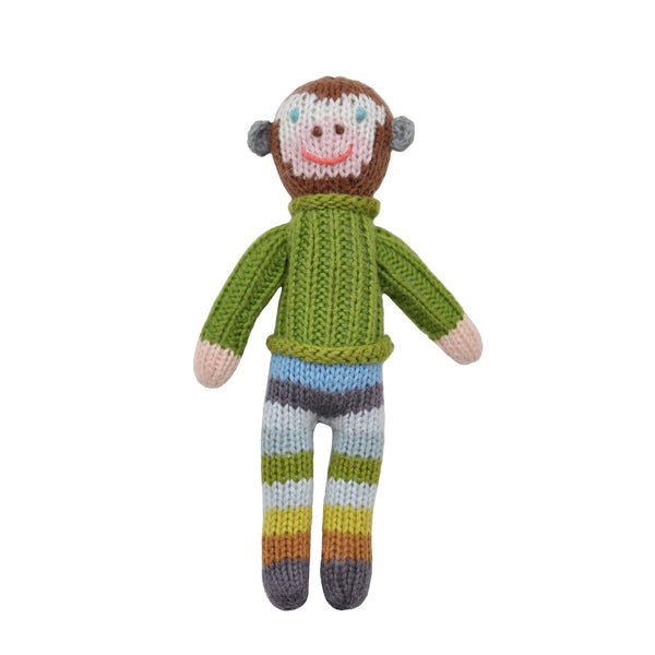 Monkey Knit Rattle