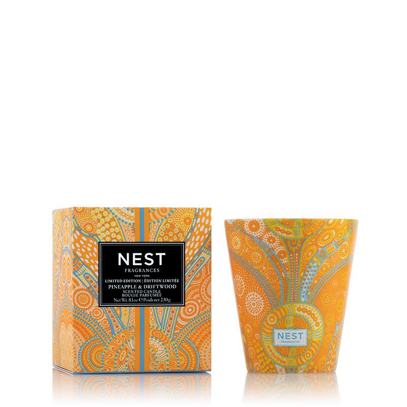 Nest Fragrances Pineapple & Driftwood Scented Candle