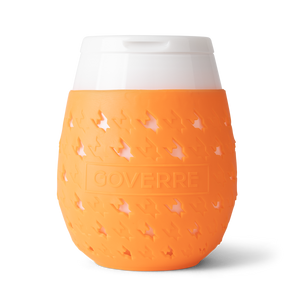 Orange Goverre Portable Wine Glass