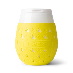 Yellow Goverre Portable Wine Glass