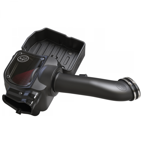S&B SBF75-5085 COLD AIR INTAKE FOR 2017-2019 FORD POWERSTROKE 6.7L Cotton Cleanable