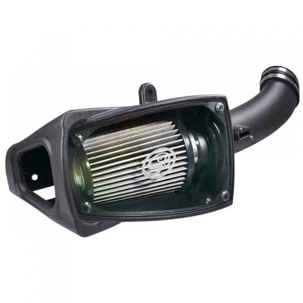 S&B SBF75-5104D COLD AIR INTAKE FOR 2011-2016 FORD POWERSTROKE 6.7L DRY EXTENDABLE