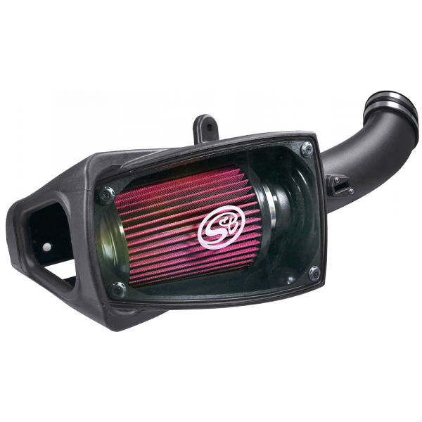 S&B SBF75-5104 COLD AIR INTAKE FOR 2011-2016 FORD POWERSTROKE 6.7L COTTON CLEANABLE