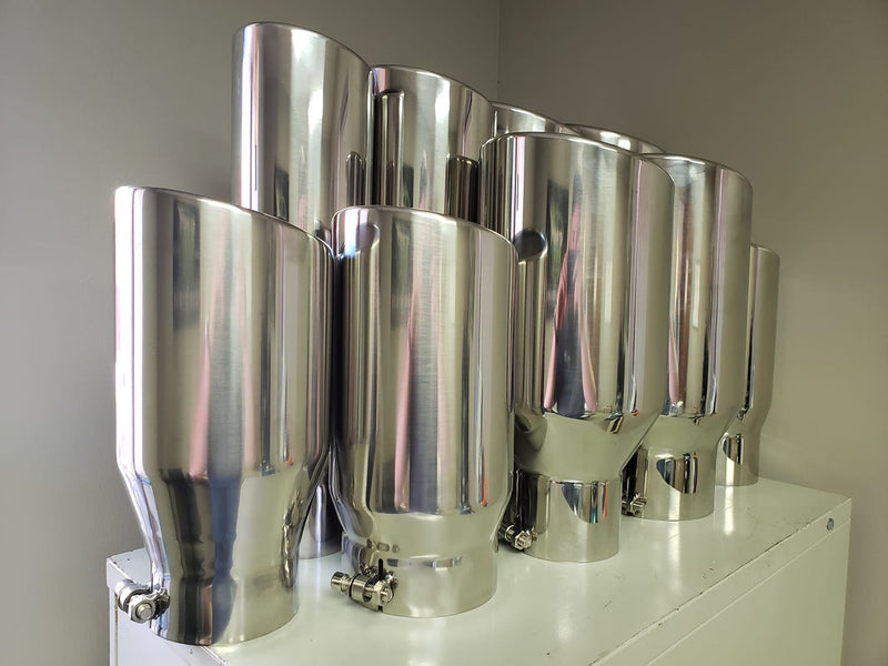 4x7x18 Exhaust Tip
