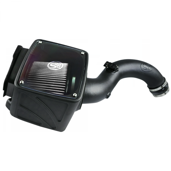 75-5102D S&B COLD AIR INTAKE FOR 2004-2005 CHEVY / GMC DURAMAX LLY 6.6L DRY EXTENDABLE