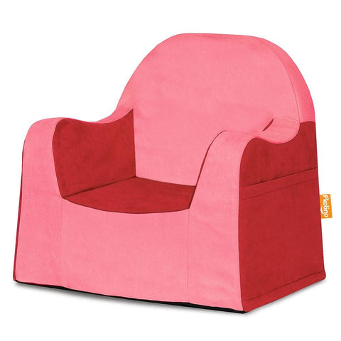 Toddler Chair, Little Reader, Red, Washable Cover