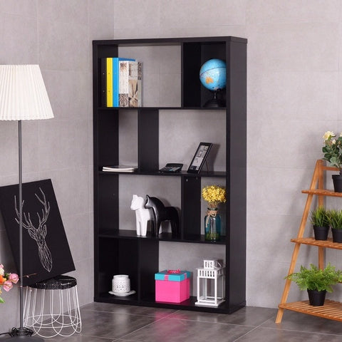 Minimalist Modern Bookshelf Display Room Divider
