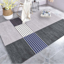 Load image into Gallery viewer, Creative Art Zebra Geometric Carpet For Living Room Bedroom Anti-slip Floor Mat Fashion Kitchen Carpet Area Rugs