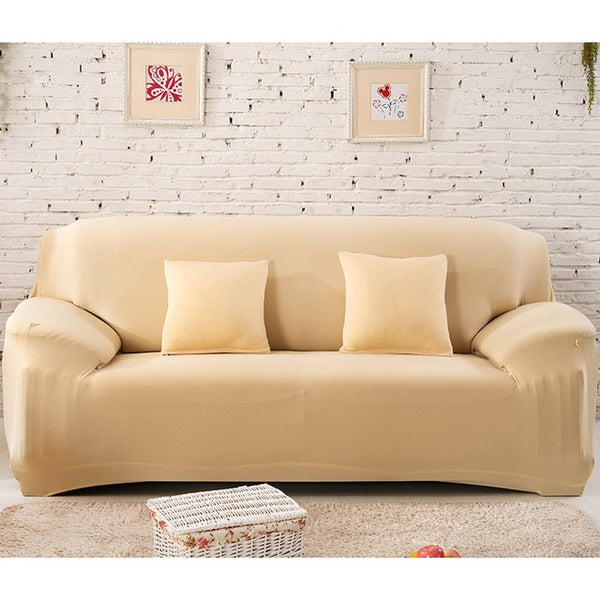 1-4 Seaters Elastic Sofa Covers All-inclusive Slip-resistant Sofa Covers for Living Room Couch Cover Slipcovers Sofa Multicolor