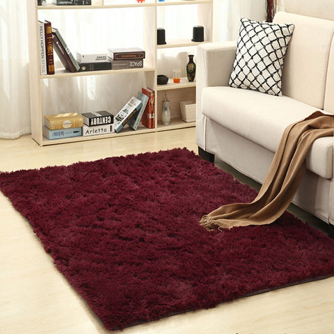 Carpet For Living Room Home Warm Plush Floor Rugs fluffy Mats Kids Room Silky Rugs Faux Fur Area Rug Living Room Mats Yoga Mat