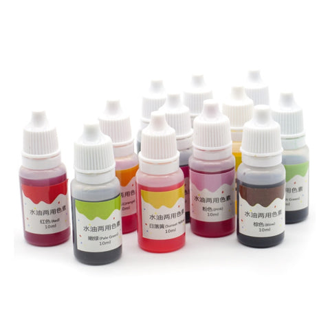 10ml Handmade Soap Dye Pigments Safe and Non-toxic Base Color Liquid Pigment DIY Manual Soap Colorant Tool Kit 66CY