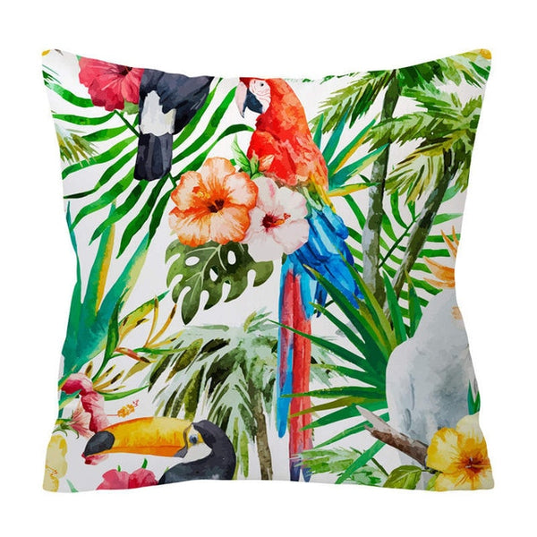 Tropical Pattern Cushion Covers