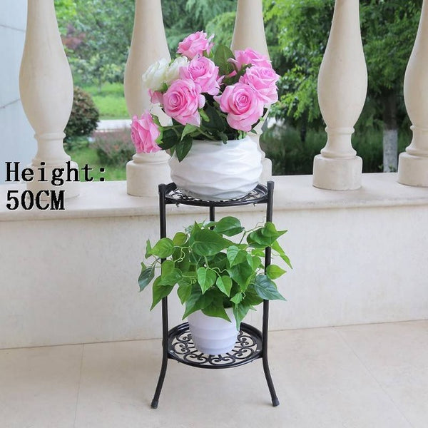 Iron Raflar Decorative Metal Decoration Terrasse Salincagi Mensola Porta Piante Decorer Balkon Stand Flower Balcon Plant Shelf