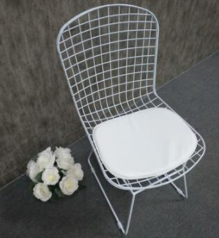 wrought iron dining chair outdoor back chair hollow garden chair