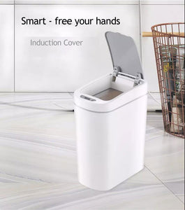 Ecofresh Automatic Touchless Automatic Smart Infrared Motion Sensor Rubbish Waste Bin Kitchen Trash Can