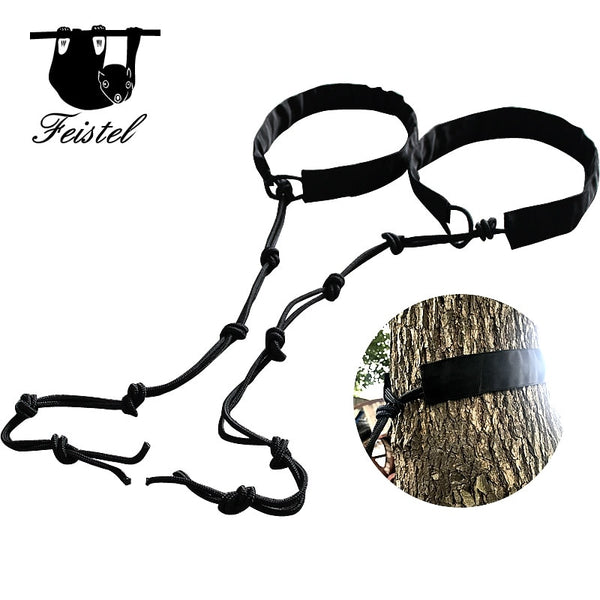 Feistel 2PCS of Hammock Straps and Belts Parachute Hamac Garden Rope Hanging Tree Straps Flyknit Hammac Tree Hugger Protection