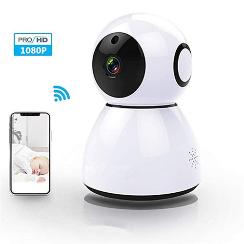 Home Camera 1080P HD Video Monitor IP Wireless Network Surveillance Security Night Vision Alert Motion Detection Two-way Audio