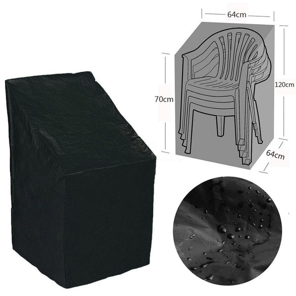 New Garden Parkland Patio Chairs Furniture  Dust Cover 1PC Waterproof Outdoor Stacking Chair Cover High Quality 30
