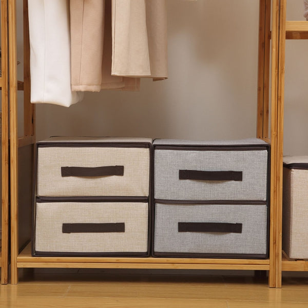 Drawer Style Storage Box Underwear Drawer Organizer Large-capacity Closet Organizer Foldable Home Storage Socks Bra Case