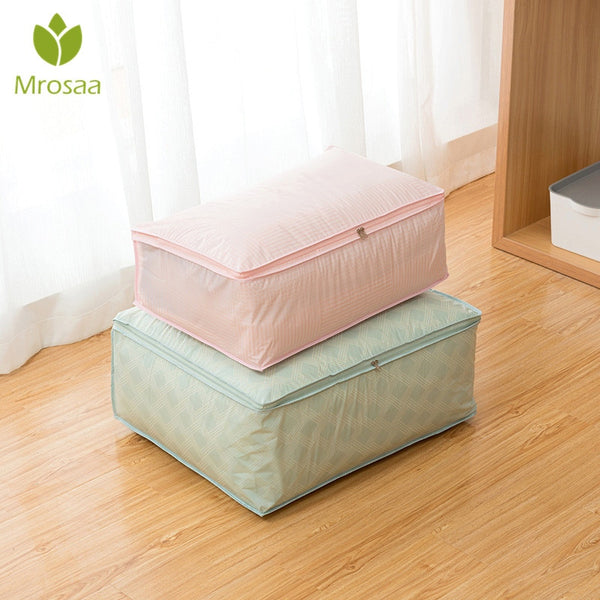 Newest Storage Bags for Quilt Folding Clothes Storage Organizer for Clothing Travel Luggage Organizer Bag Dampproof Sorting Bag