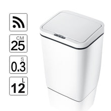 Load image into Gallery viewer, Automatic Touchless Intelligent induction Motion Sensor Kitchen Trash Can Wide Opening Sensor Eco-friendly Waste Garbage Bin