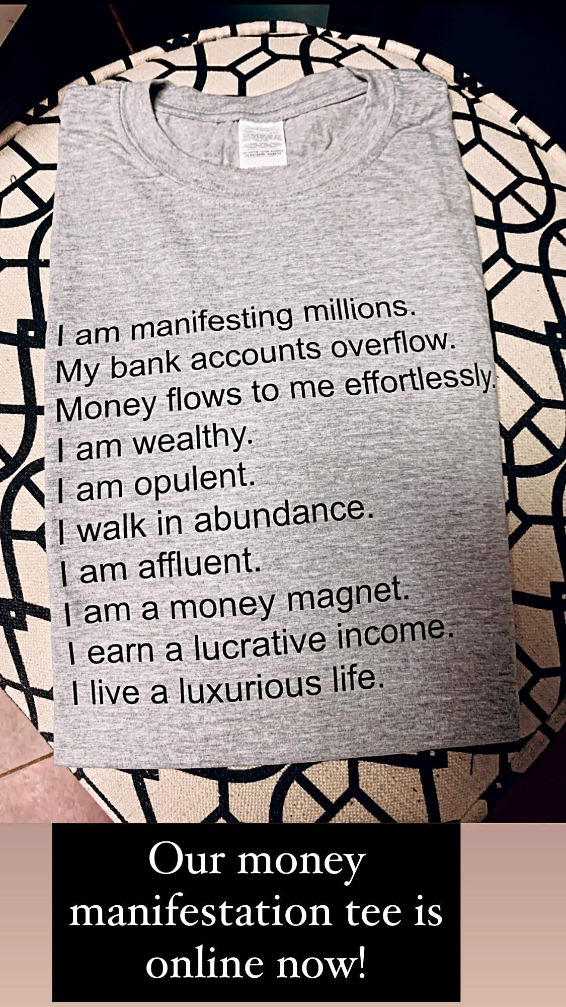 Money Manifestation Tee