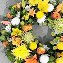 Load image into Gallery viewer, Yellow Wreath