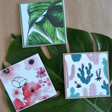 Load image into Gallery viewer, Gift Cards- Handmade Floral Prints