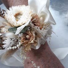 Load image into Gallery viewer, Wrist Corsage- Preserved/Dried Flowers